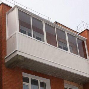 """""""Г"""" образный балкон Николаев"""