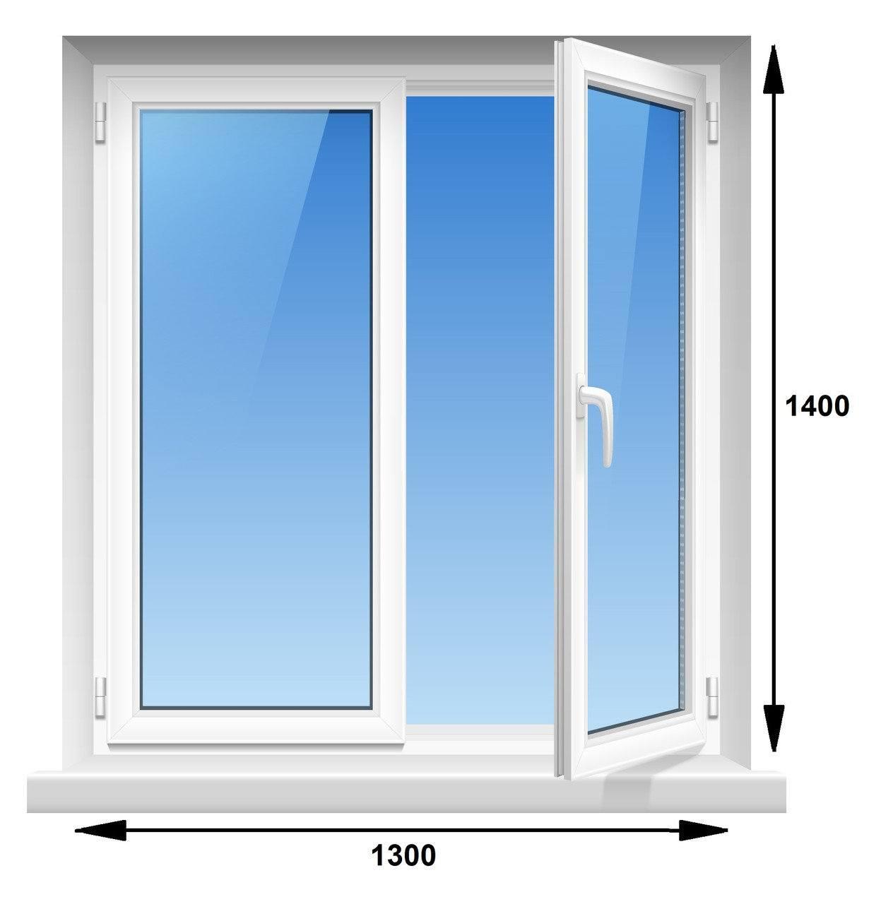 Окно Steko 1300 х 1400
