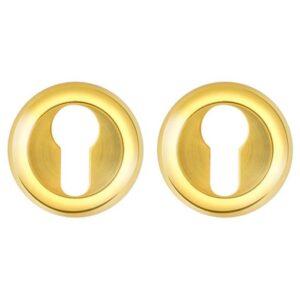 Накладка под цилиндр ET AR GP/SG-5 золото/матовое золото