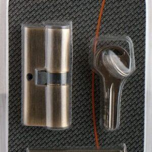 Цилиндровый механизм R600/70 mm (30+10+30) PB латунь 5 кл.