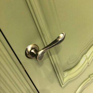 Дверная ручка ARFA TL ABG-6 зеленая бронза
