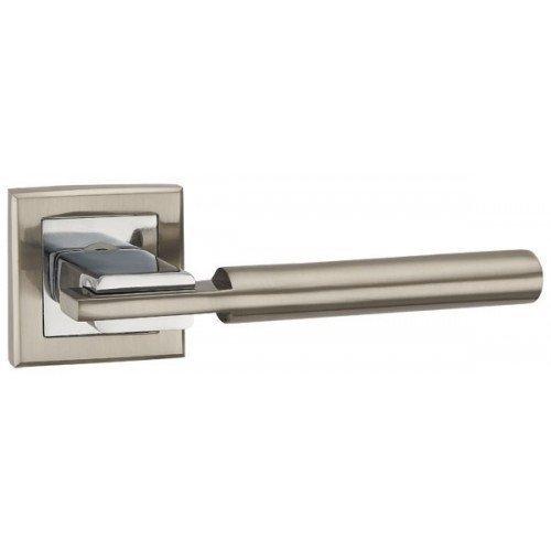 Дверная ручка CITY QL SN/CP-3 матовый никель/хром