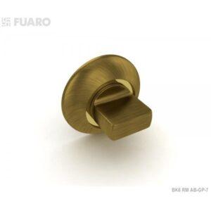 Ручка поворотная BK6 RM AB/GP-7 (бронза/золото)