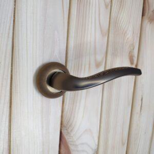Дверная ручка GERION TL CF-17 кофе