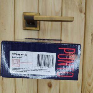 Дверная ручка TECH QL CF-17 кофе