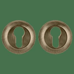 Накладка под цилиндр ET TL ABG-6 зеленая бронза