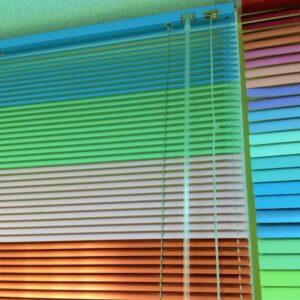 Горизонтальные жалюзи 16мм цветная