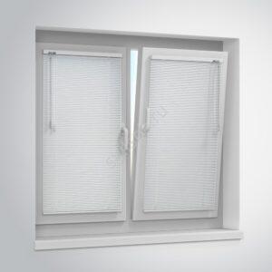 Горизонтальные жалюзи 16мм белые