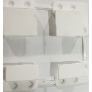 Крепление типа карман к профилю белая 10х20