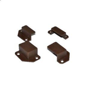 Крепление типа карман к профилю коричневая 10х20