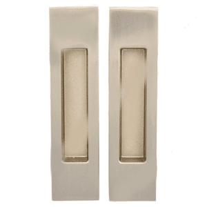 KEDR Ручка прямоугольная на раздвижные двери (пара) SN