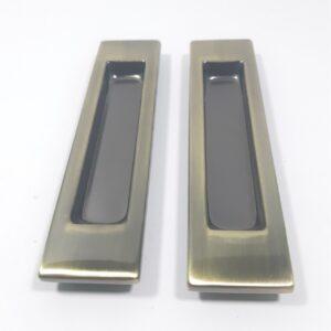 KEDR Ручка прямоугольная на раздвижные двери (пара) AB
