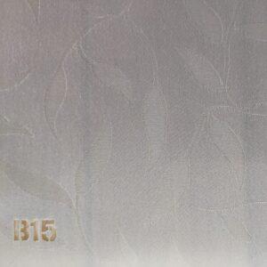 Тканевые ролеты ( ЗАКРЫТАЯ СИСТЕМА СТАНДАРТ (UNI Besta) П - образная направляющая) Ткань В15