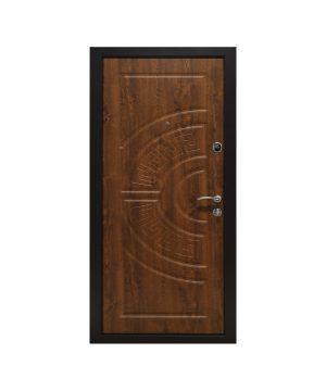 Входная дверь ПО-08 Украина МДФ/МДФ дуб золотой (минв) (960) R