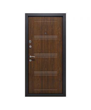 Входная дверь ПК-29 + Украина МДФ/МДФ V дуб темный III ПЕТЛИ (+ночник, замок кале) (960) R