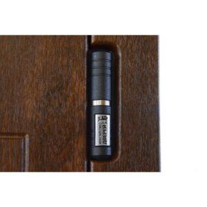 Входная дверь ПК-157 Украина МДФ/МДФ дуб темный III ПЕТЛИ (960) R