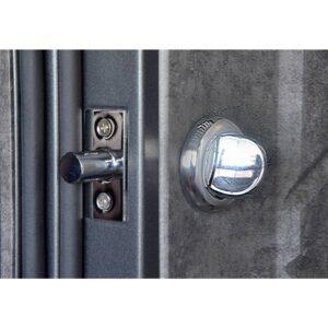 Входная дверь П-3К-116 Украина МДФ/МДФ мрамор темный Декор 4D 3 притвора (960) R