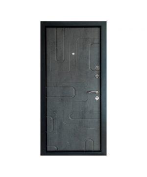 Входная дверь П-3К-52 Украина МДФ/МДФ бетон темный III ПЕТЛИ (960) R