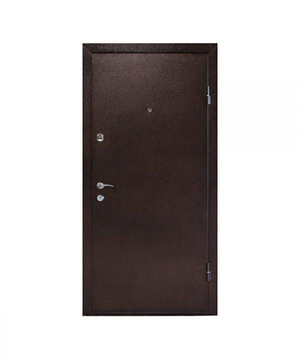 Входная дверь ПБУ-01 Украина мет/МДФ орех коньячный (960) R