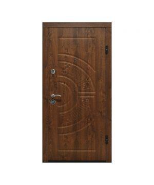 Входная дверь ПО-08 Украина МДФ/МДФ ДУБ ЗОЛ/VINORIT (минв) (960) R
