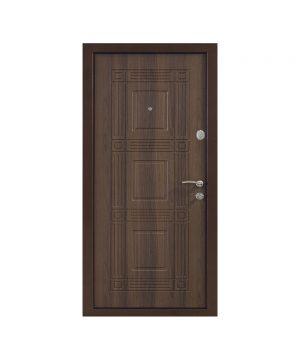 Входная дверь ПО-02 Украина МДФ/МДФ белоцерковский орех (минв) (960) R