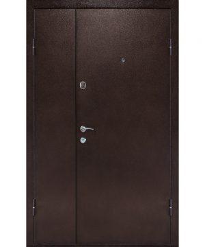 Входная дверь ПУ-01 Украина мет/МДФ орех коньячный (960) R 1900