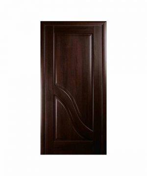 Межкомнатные двери Амата ПВХ DeLuxe каштан Глухое