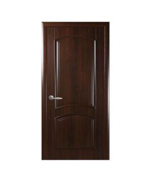 Межкомнатные двери Антре ПВХ DeLuxe каштан Глухое