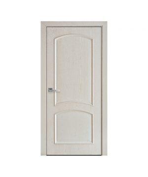 Межкомнатные двери Антре ПВХ DeLuxe патина серая Глухое