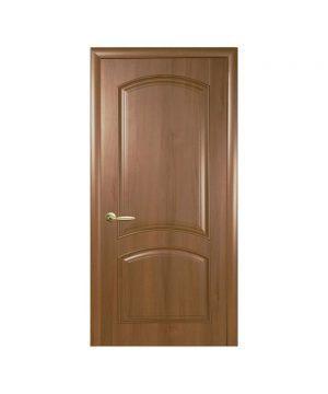 Межкомнатные двери Антре ПВХ DeLuxe золотая ольха Глухое