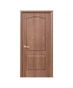 Межкомнатные двери Овал TP ПВХ DeLuxe золотая ольха Глухое