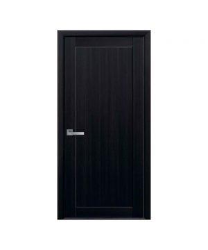 Межкомнатные двери Лейла Экошпон венге браун Глухое