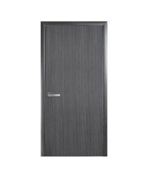 Межкомнатные двери Стандарт TP UM ПВХ DeLuxe grey new Глухое