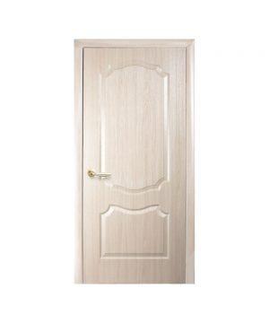 Межкомнатные двери Вензель TP ПВХ DeLuxe ясень Глухое