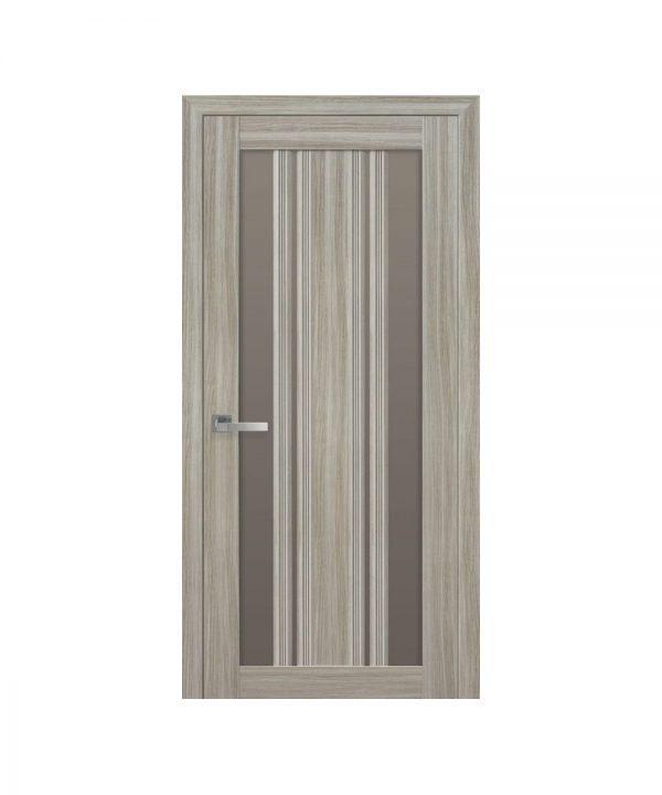 Межкомнатные двери Верона С2 Смарт жемчуг magica с бронзовым стеклом