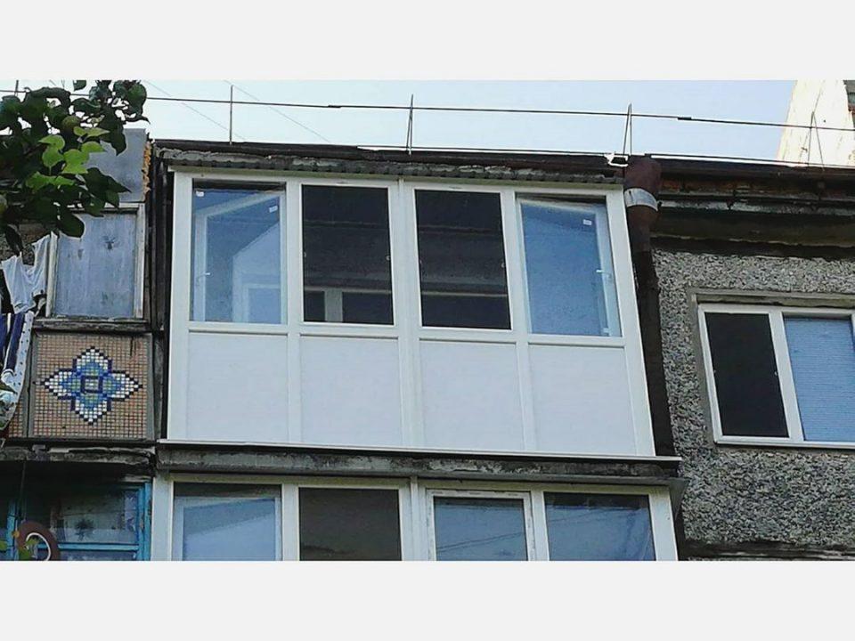 Установка пластикового балкона в Николаеве