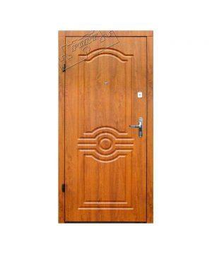 Входные двери ФОРТ Эконом Лондон 960 Пр дуб золотой