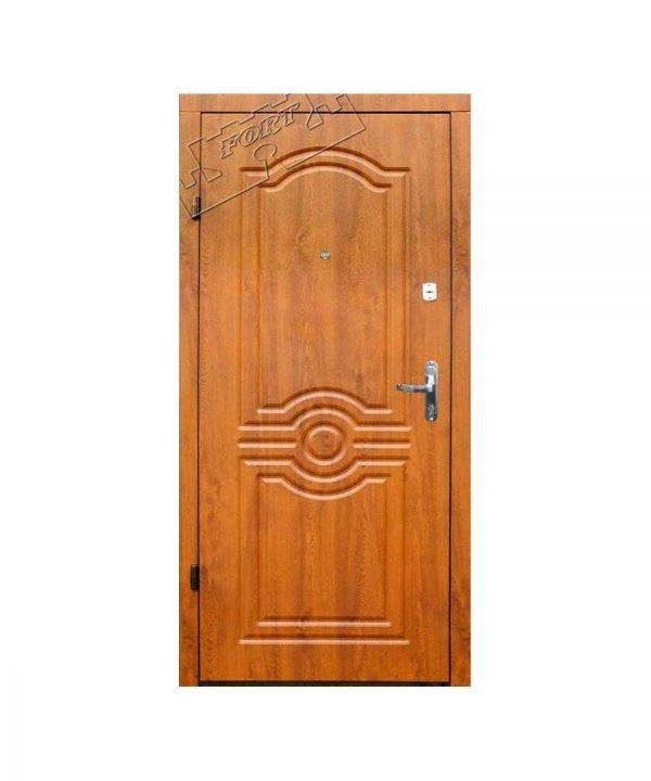 Входные двери ФОРТ Эконом Лондон Квартира 960 Пр дуб золотой