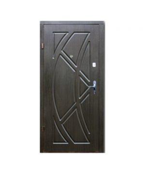 Входные двери ФОРТ Эконом Викинг 860 Пр венге темный