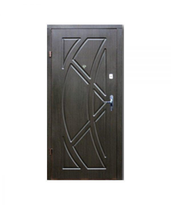 Входные двери ФОРТ Эконом Викинг Квартира 860 Пр венге темный