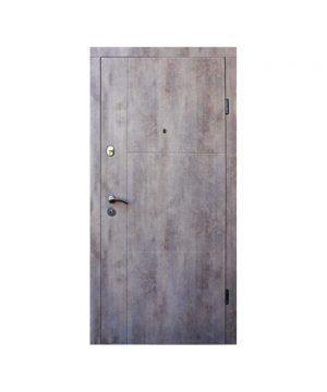 Входные двери ФОРТ Стандарт Калифорния 960 Л венге серый горизонтальный