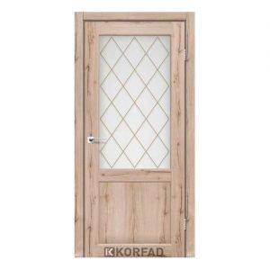 Міжкімнатні двері Корфад модель CL-01 без штапика