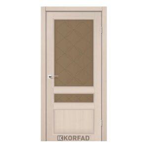 Міжкімнатні двері Корфад модель CL-05 без штапика