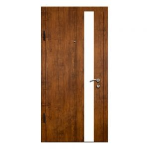 Входные двери Феран Модель Акрил горизонтальный беж