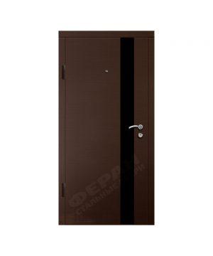Входные двери Феран Модель Акрил вертикальный