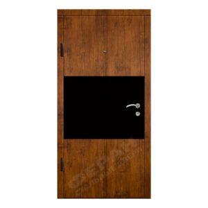 Входные двери Феран Модель Стиль акрил черный