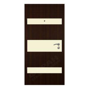 Входные двери Феран Модель Трио горизонт беж