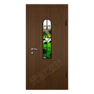 Входные двери Феран Модель Стекло 1 Ковка 1