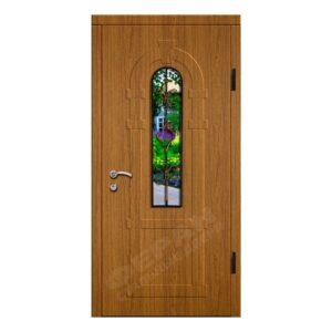 Входные двери Феран Модель Стекло 2_3D Ковка 1