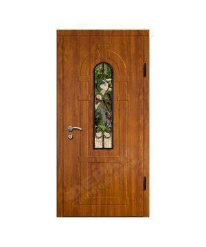 Входные двери Феран Модель Стекло 2_3D Ковка 2